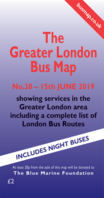 The Greater London Bus Map No.Map 38