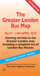 The Greater London Bus Map No.Map 37