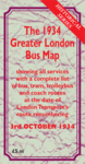 The October 1934 Greater London Bus Map