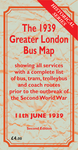 The 1939 Greater London Bus Map Second Edition