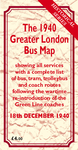 The 1940 Greater London Bus Map