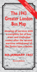 The 1943 Greater London Bus Map