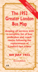 The 1952 Greater London Bus Map