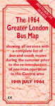The 1964 Greater London Bus Map