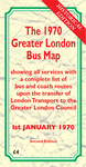 The 1970 Greater London Bus Map Second Edition