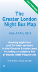 The Greater London Night Bus Map 2018