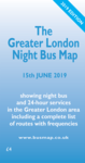 The Greater London Night Bus Map 2019