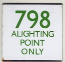 798 Alighting Point 'e' plate